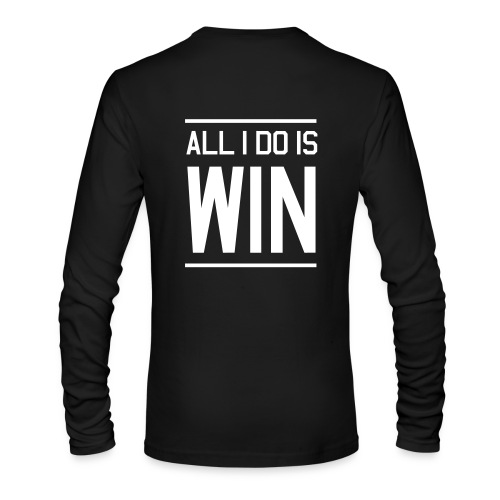 Mens Baseball Long Sleeve - Men's Long Sleeve T-Shirt by Next Level