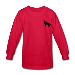 Coyote CrewNecks - Kids' Long Sleeve T-Shirt
