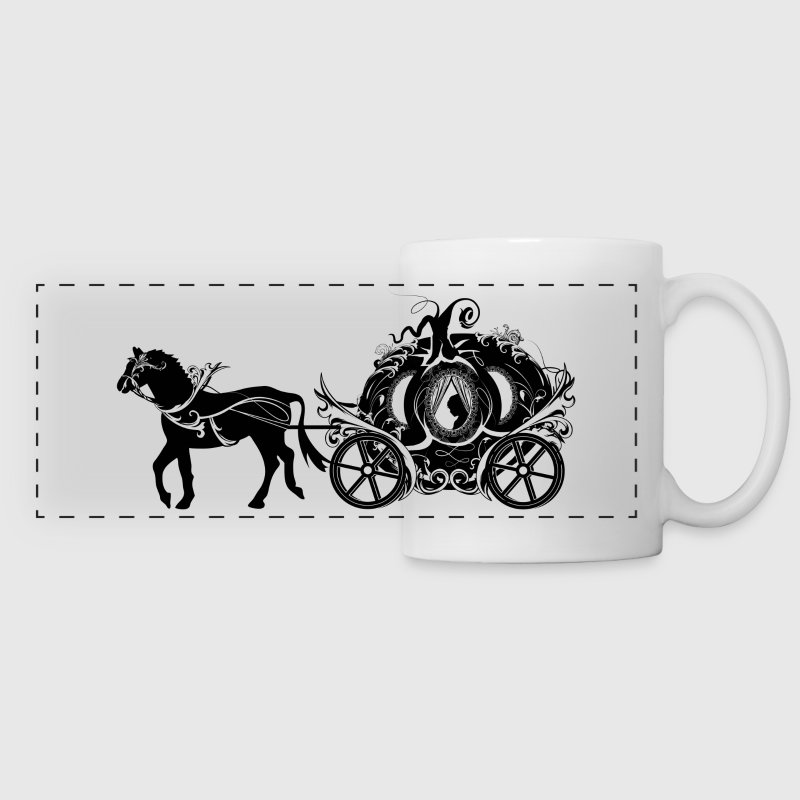 Cinderella in the Pumpkin Carriage Accessories - Panoramic Mug