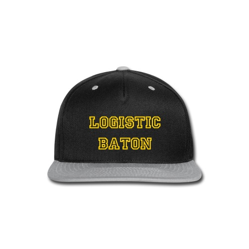 SnapBack LogisticBaton - Snap-back Baseball Cap