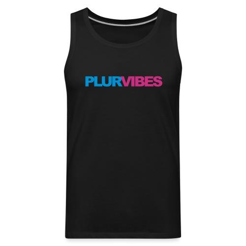 Plur Vibes - Men's Premium Tank