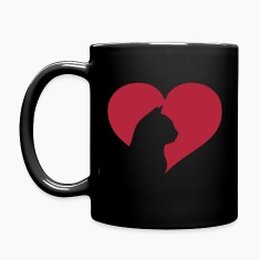 Cat Heart  Mugs & Drinkware