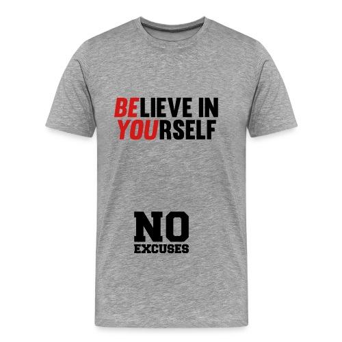 BElieve in YOUrself Tee - Men's Premium T-Shirt
