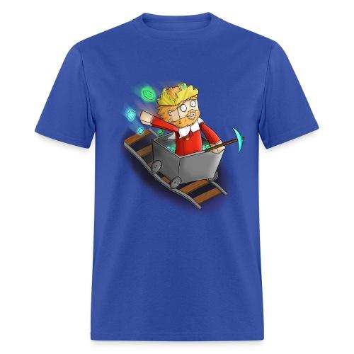 Mens Minecart Shirt - Men's T-Shirt