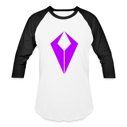 Purple QiviD Baseball Tee - Baseball T-Shirt