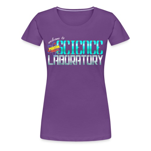 Women's Science Lab Shirt - Women's Premium T-Shirt