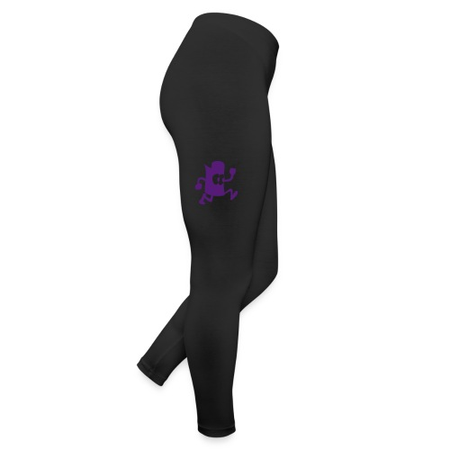 Women Nefew Purple Glits Leggings - Leggings