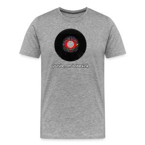 Viral Vinyl T-Shirt Model R Premium - Men's Premium T-Shirt