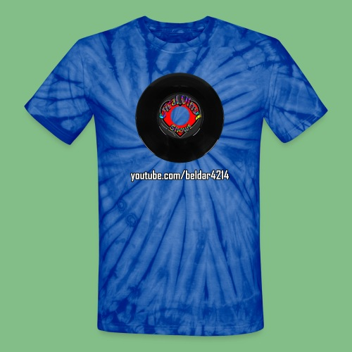 Viral Vinyl T-Shirt Model R60s - Unisex Tie Dye T-Shirt
