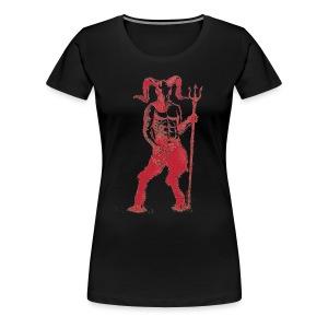 Wily Bo Walker - 'Walking with the Devil' Women's Tee - Women's Premium T-Shirt