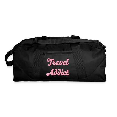 Travel Addict Pink - Duffel Bag