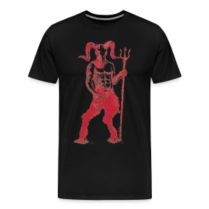 Wily Bo Walker - 'Walking with the Devil' Men's Tee - Men's Premium T-Shirt