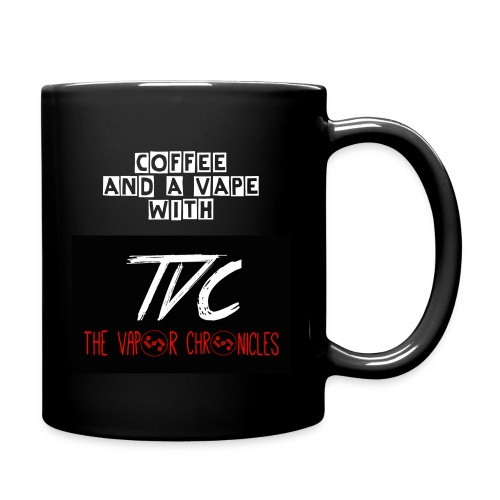 Coffee And A Vape With TVC Mug - Full Color Mug