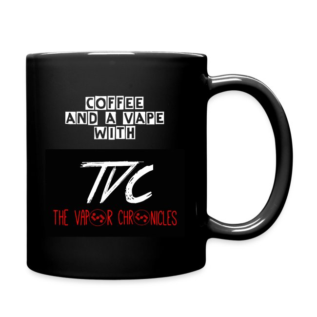 Coffee And A Vape With TVC Mug