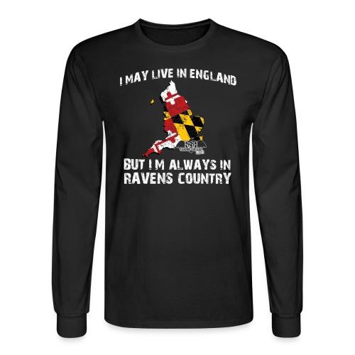 Ravens England Long Sleeve - Men's Long Sleeve T-Shirt
