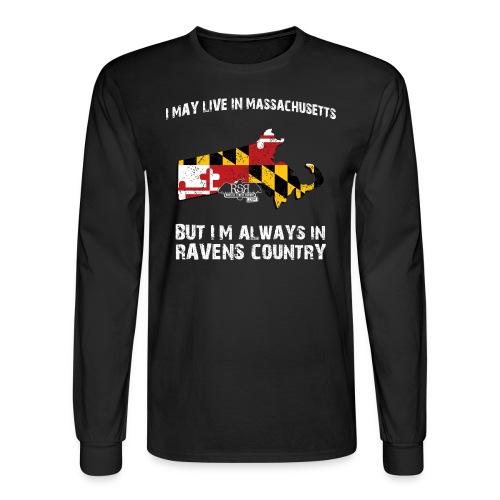 Ravens Mass Long Sleeve - Men's Long Sleeve T-Shirt