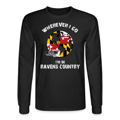 Ravens World Long Sleeve - Men's Long Sleeve T-Shirt