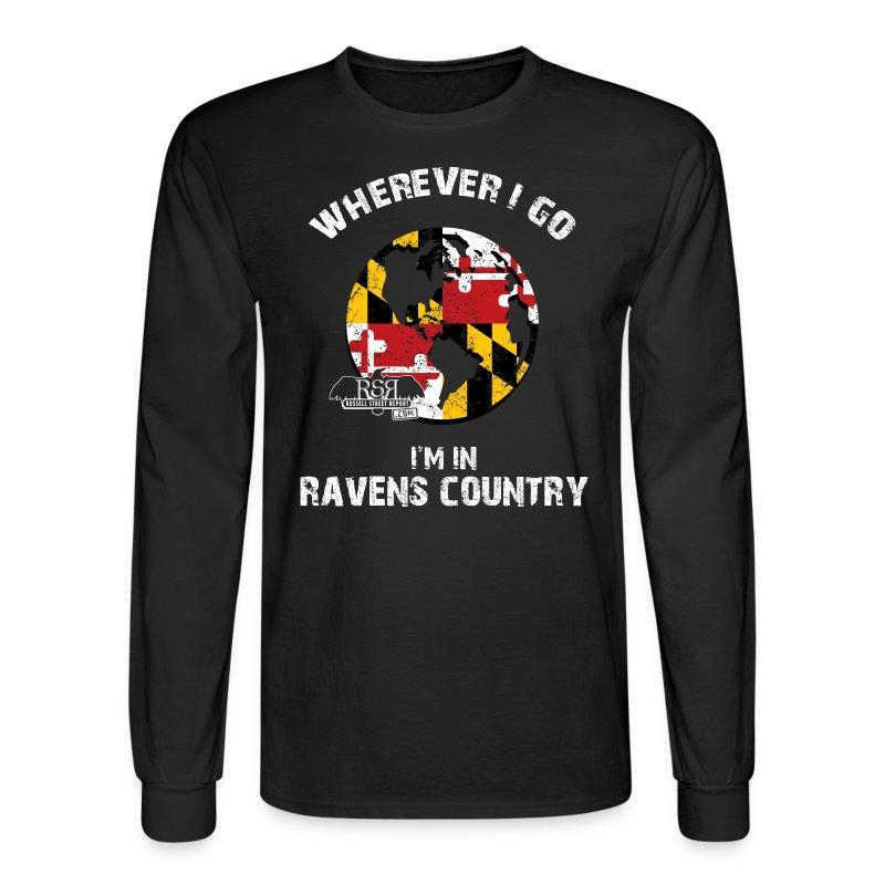 Ravens World Long Sleeve - Men's Long Sleeve T-Shirt