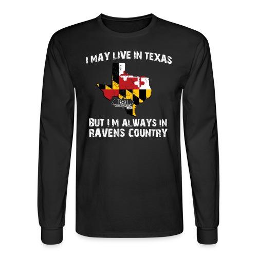 Ravens Texas Long Sleeve - Men's Long Sleeve T-Shirt