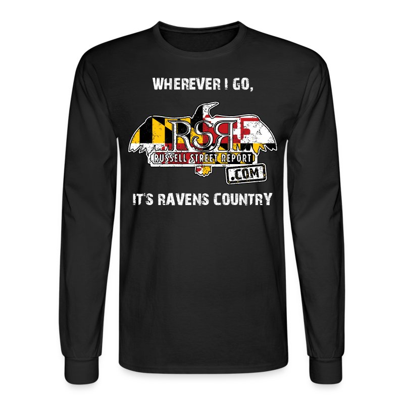 Ravens Country Long Sleeve - Men's Long Sleeve T-Shirt