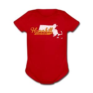 Haverhill MA - Short Sleeve Baby Bodysuit