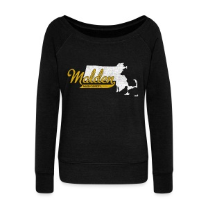 Malden MA - Women's Wideneck Sweatshirt