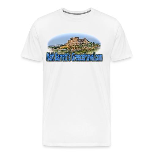 GREECE TRAVEL ACROPOLIS (MEN) - Men's Premium T-Shirt