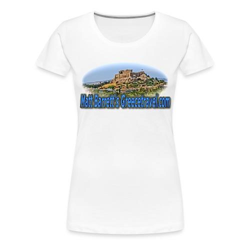 GREECE TRAVEL ACROPOLIS (women) - Women's Premium T-Shirt