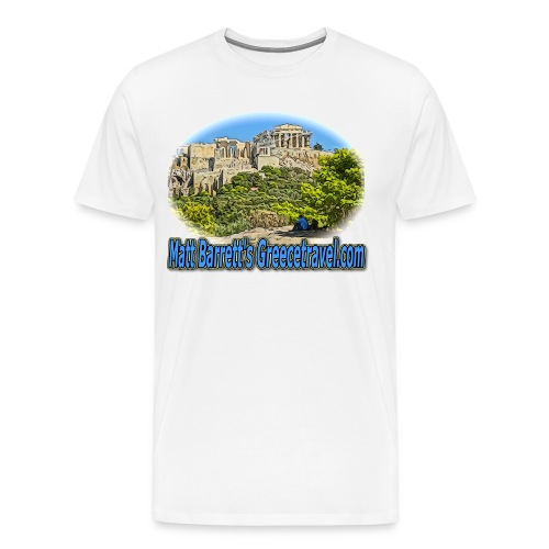 GREECETRAVEL ACROPOLIS 1(men) - Men's Premium T-Shirt