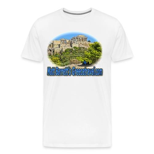 GREECETRAVEL ACROPOLIS 1(men) - Men's Premium T-Shirt