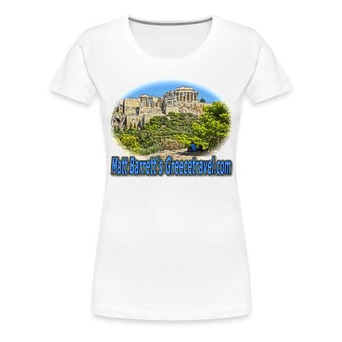 GREECETRAVEL ACROPOLIS 1(women) - Women's Premium T-Shirt