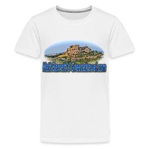 GREECE TRAVEL ACROPOLIS (kids) - Kids' Premium T-Shirt