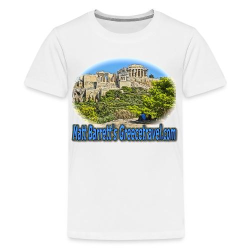 GREECE TRAVEL ACROPOLIS 1 (kids) - Kids' Premium T-Shirt