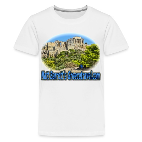 GREECE TRAVEL ACROPOLIS 1 (kids) - Kids' Premium T-Shirt