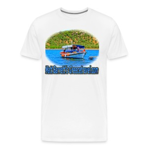 GreeceTravel Fishing Boat (men) - Men's Premium T-Shirt