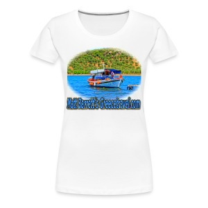 GreeceTravel Fishing Boat (women) - Women's Premium T-Shirt