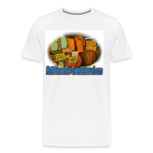 GREECETRAVEL KAVA (men) - Men's Premium T-Shirt