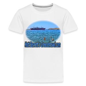GreeceTravel Ferry Swimmers (kids) - Kids' Premium T-Shirt