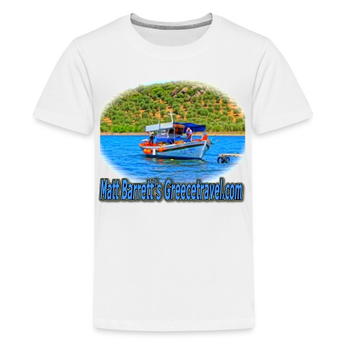 GreeceTravel Fishing Boat (kids) - Kids' Premium T-Shirt