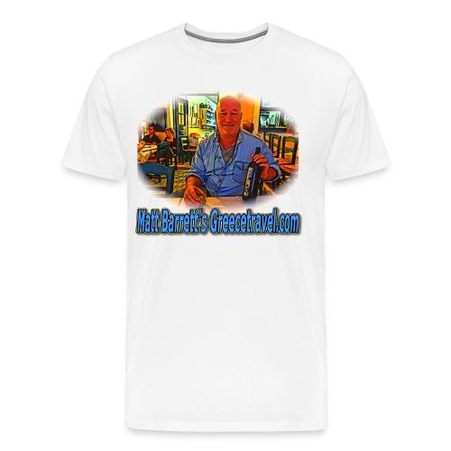 GreeceTravel1-Wine (men) - Men's Premium T-Shirt