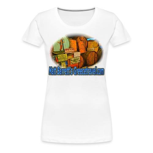 GREECETRAVEL KAVA (women) - Women's Premium T-Shirt