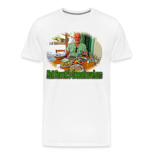 GreeceTravel 2 (men) - Men's Premium T-Shirt