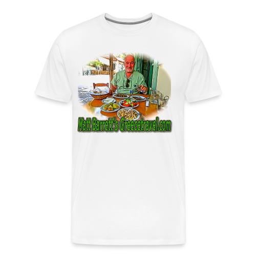 GreeceTravel 2 (men) - Men's Premium T-Shirt