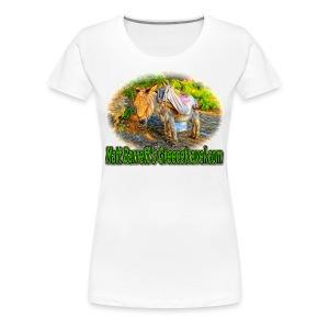 GreeceTravel Donkey (women) - Women's Premium T-Shirt