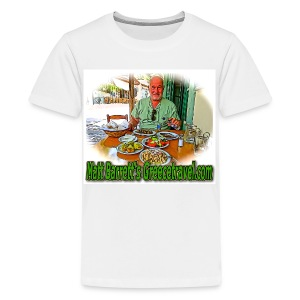 GreeceTravel 2 (kids) - Kids' Premium T-Shirt