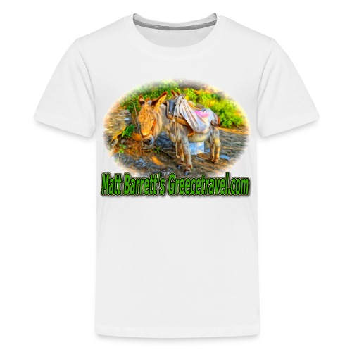 GreeceTravel Donkey (kids) - Kids' Premium T-Shirt