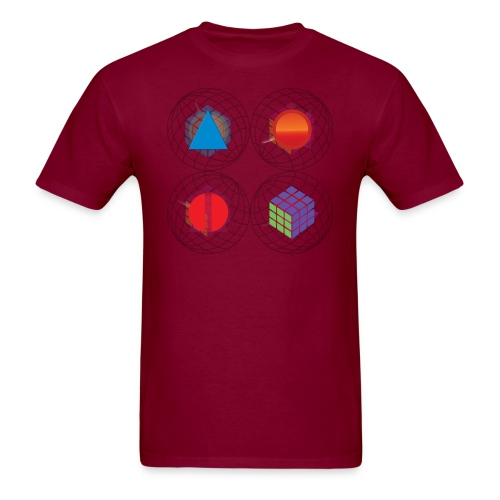 PKV BURG - Men's T-Shirt