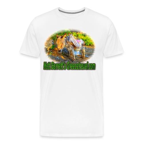 GreeceTravel Donkey (men) - Men's Premium T-Shirt