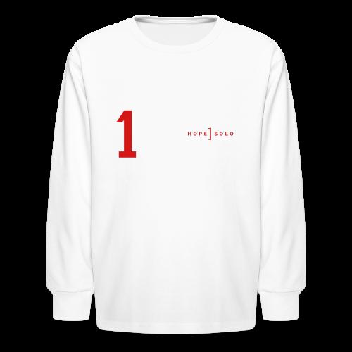 Hope #1 Long Sleeve Tee - Kids' Long Sleeve T-Shirt