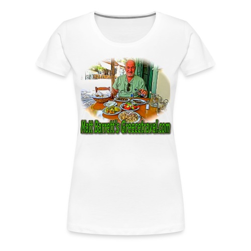 GreeceTravel 2  (women) - Women's Premium T-Shirt